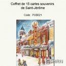 Coffret de 15 cartes souvenirs de Saint-Jérôme, 2009