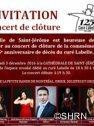 Concert clôture 125e curé Labelle