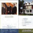 Dépliant actuel publié en 2003 - Michel Trudel entouré de ses enfants, Catherine et Philippe, les nouveaux administrateurs